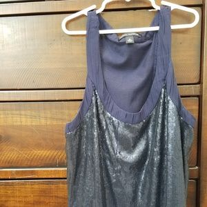 Banana Republic Sequin Tank Top